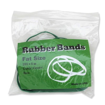Rubber Bands | 輪ゴム(FAT SIZE)グリーン