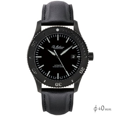 【ポイント5倍!】Ole Mathiesen(オーレ・マティーセン)Heritage Navy Diver Automatic 40mm White index/Black
