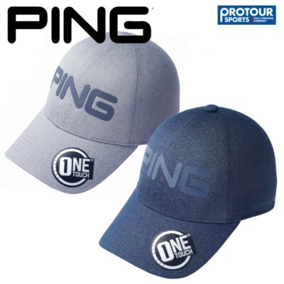 【PING ONE TOUCH CAP】ピン ワンタッチ キャップ HW-P192 34559