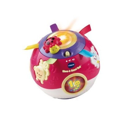 VTech Move and Crawl Ball, Pink おもちゃ