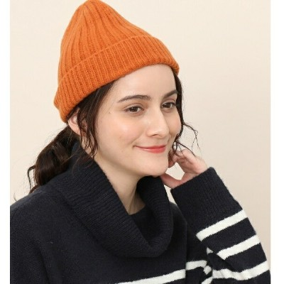 【SCOTTISH TRADITION】SOLID BEANIE/アダム エ ロペ ル マガザン(ADAM ET ROPE Le Magasin)