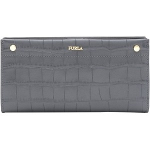 レディース FURLA LADY MEDIUM XL BI-FOLD 財布  グレー
