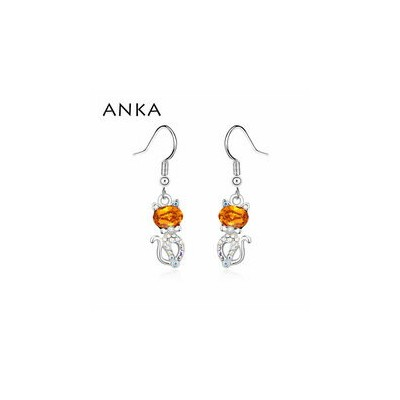 【送料無料】ankaトップ2018anka earing top trendy 2018 main stone crystals from