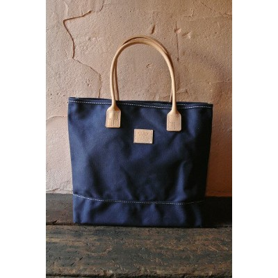 ★HERITAGE LEATHER CO.ヘリテージレザー★★MADE IN USA★ Tote Bag トートバッグNavy/Navy