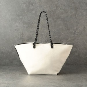 SALE【ル ジュール(LE JOUR)】 ★★【CACHELLIE】ROPE HANDLE TOTE オフホワイト