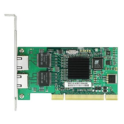 LR-LINK LREC7212MT PCI Gigabit 10/100/1000Mbps Dual Port Network Adapter Intel 82546 Based ネットワークカード