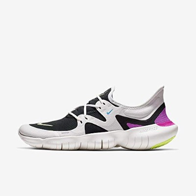Nike Free RN 5.0 [AQ1289-100] Men Running Shoes White/Volt Glow-Black/US 12.0
