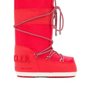 Moncler Moncler x Moonboot スノーブーツ - レッド