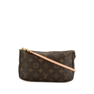 Louis Vuitton Pre-Owned ポシェット ハンドバッグ - ブラウン