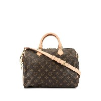 Louis Vuitton Pre-Owned 2017 スピーディ 30 バンドリエール 2way バッグ - ブラウン