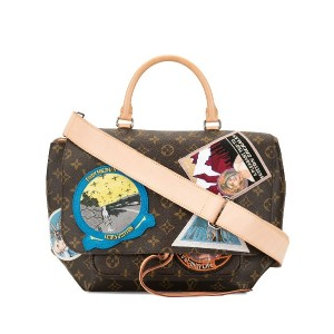 Louis Vuitton Pre-Owned Cindy Sherman メッセンジャーバッグ - ブラウン