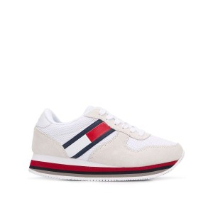 Tommy Jeans レースアップ スニーカー - ホワイト