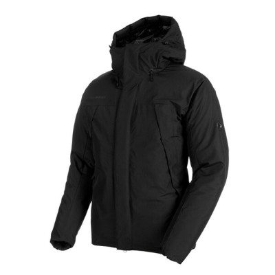 MAMMUT(マムート) Crater SO Thermo Hooded Jacket AF Men's L 0001(black) 1011-00780