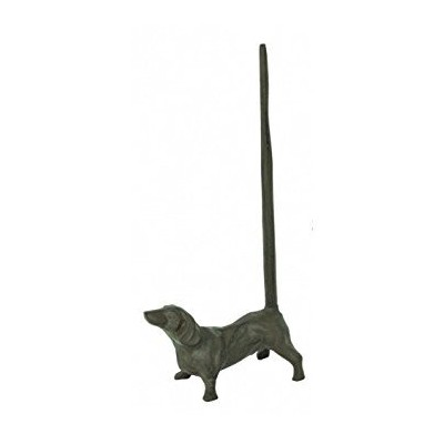 Cast Iron Dog Paper Towel Holder by GSM