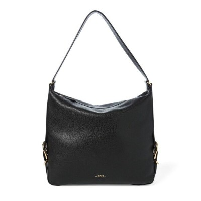 ラルフ ローレン Lauren by Ralph Lauren レディース バッグ【Cornwall medium slouch hobo】Black