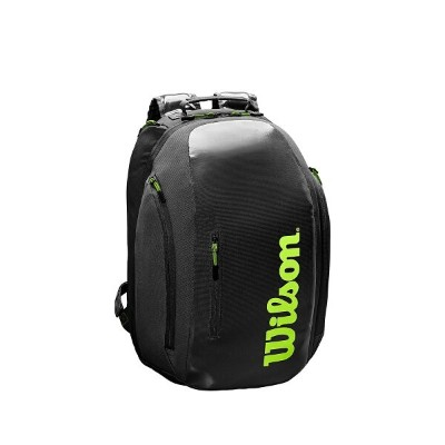 WILSON (ウィルソン) ラケットスポーツ バッグ ケース類 SUPER TOUR BACKPACK BLK X GRN WR8004301001