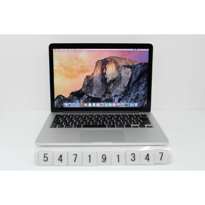 Apple MacBook Pro Retina A1502 Late 2013 Core i5 4258U 2.4GHz/4GB/128GB(SSD)/13.3W/WQXGA(2560x1600)...