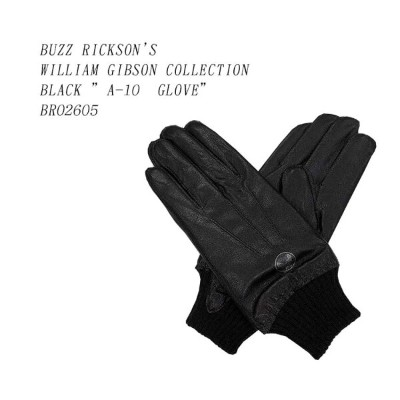 "BUZZ RICKSON'S (バズリクソンズ)WILLIAM GIBSON COLLECTIONBLACK ""A-10 GLOVE""BR02605"