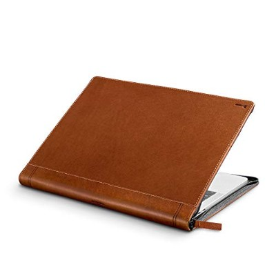 "Twelve South Journal for MacBook | Luxury leather case/sleeve with interior pocket for 13"" MacBook..."