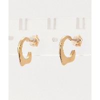 ANOTHER FEATHER/アナザー フェザー  ピアス FIN HOOPS B GOLD【三越・伊勢丹/公式】 アクセサリー~~ピアス~~レディース ピアス