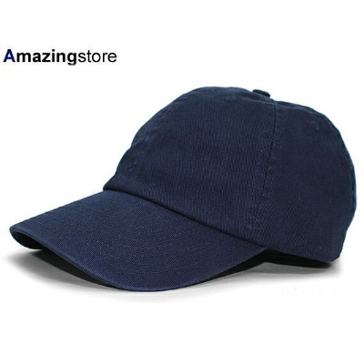 BAYSIDE 【UNSTRUCTURED WASHED TWILL CAP/NAVY】 ベイサイド ネイビー [for3000 MADEINUSA 17_5_4 18_6RE]