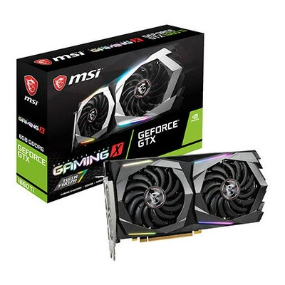 MSI グラフィックボード GeForce GTX 1660 Ti GAMING X 6G GeForceGTX1660TiGAMINGX6G