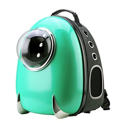 CloverPet Luxury Puppy Cats Dogs Bubble Travel Pet Carrier Backpack,Green 141[並行輸入]