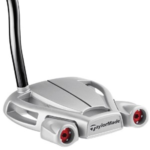 TaylorMade Spider Tour Diamond Silver Double Bend Putter【ゴルフ ゴルフクラブ>パター】