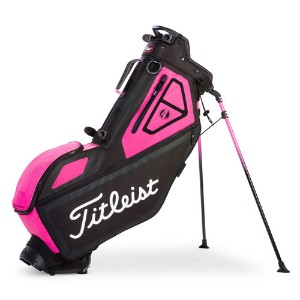Titleist Players 4 Pink Out Stand Bag キャディバッグ 【ゴルフ バッグ>スタンドバッグ】