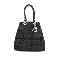 Christian Dior Pre-Owned Lady Dior ハンドバッグ - ブラック