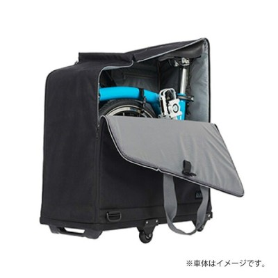 BROMPTON ブロンプトン Padded Travel Bag with 4 rollers パデッドトラベルバッグ with 4 rollers (QTRVLBAG) 輪行バッグ