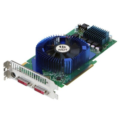 Palit Microsystems GeForce 8800 GT 512MB DVI *2/TV-out PCI Express x16 XNE/8800TXT352-PM8392【中古】
