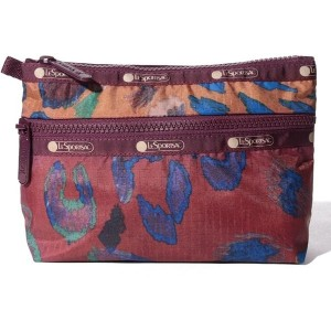 LeSportsac COSMETIC CLUTCH/チーーターー