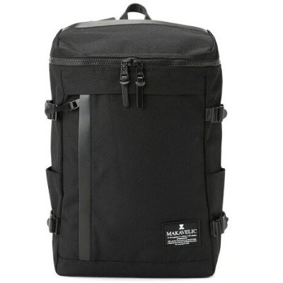 ADPOSION ADPOSION/(M)【MAKAVELIC】CHASE RECTANGLE DAYPACK BACKPACK テットオム バッグ リュック/バックパック ブラック【送料無料】