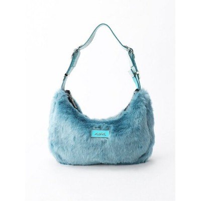 【SALE/30%OFF】X-girl FAUX FUR HAND BAG エックスガール バッグ ハンドバッグ ブルー ピンク イエロー【送料無料】