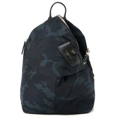 le camouflage tribe le camouflage tribe/リュック エクルーガレリア バッグ リュック/バックパック ネイビー ブラック【送料無料】