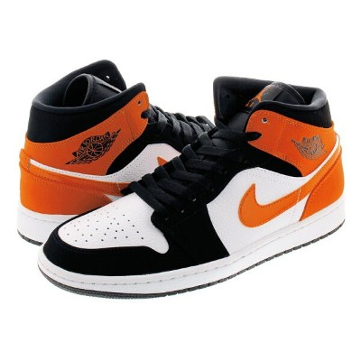 NIKE AIR JORDAN 1 MID ナイキ エア ジョーダン 1 ミッド BLACK/STARFISH/STARFISH/WHITE 【SHATTERED BACKBOARD】 554724...