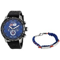 Sector セクター メンズ腕時計 Men's R3251575003 Racing Analog Display Quartz Black Watch