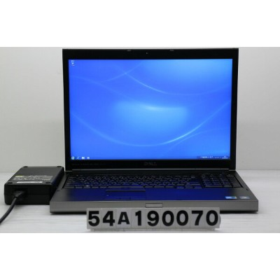 DELL Precision M6500 Core i7 Q820 1.73GHz/8GB/64GB(SSD)+250GB/Multi/17W/WUXGA/Win7 バッテリー及びCMOS完全消耗...