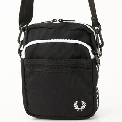 【19AW】MONOCHROME SIDE BAG/フレッドペリー(雑貨)(FRED PERRY)