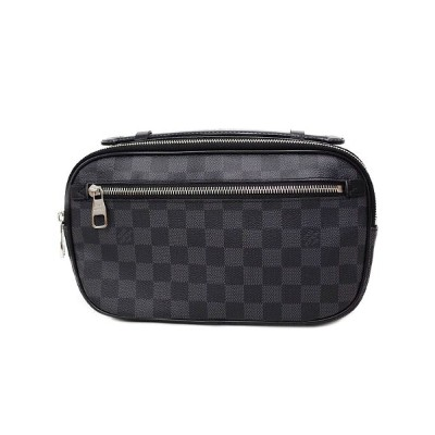【LOUIS VUITTON】ルイヴィトン『ダミエ グラフィット アンブレール』N41289 メンズ ボディバッグ 1週間保証【中古】b06b/h06A