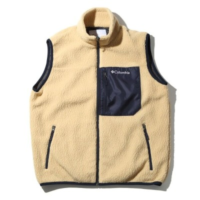 Columbia(コロンビア) SUGAR DOME VEST(シュガー ドーム ベスト) Men's L 232(SIERRA TAN) PM1615