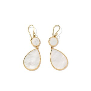 IPPOLITA 18kt yellow gold Polished Rock Candy Snowman mother-of-pearl