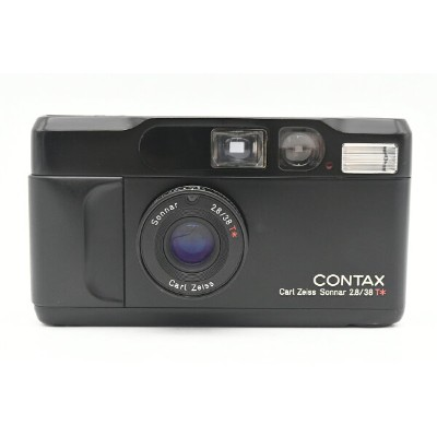 CONTAX コンタックス T2 Limited BLACK Carl Zeiss Sonnar 38mm F2.8 T* 【中古】