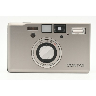 CONTAX コンタックス T3 後期型(ダブルティース) / Carl Zeiss Sonnar 35mm F2.8 T* 【中古】