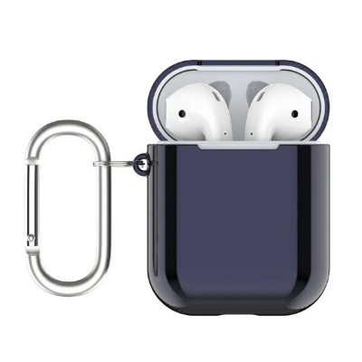 BELEX Electroplate case for AirPods aurora blue