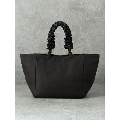 LE JOUR 【CACHELLIE】FRILL2WAYTOTE(CANVAS) ルジュール バッグ トートバッグ ブラック【送料無料】