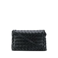 Bottega Veneta Intrecciato weave shoulder bag - ブラック