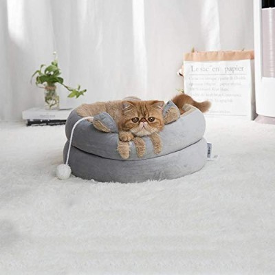 Soft Warm Pet Dog Bed House for Small Dogs Winter Warm Nest Pet Cat Small Dog Puppy Kennel Bed Sofa...