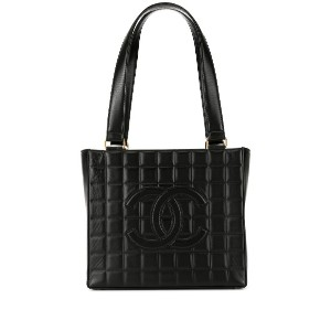 Chanel Pre-Owned チョコバー トートバッグ - ブラック